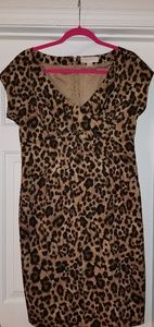 Michael Kors Cheetah Print Dress